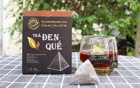 lợi ích của uống trà đen quế