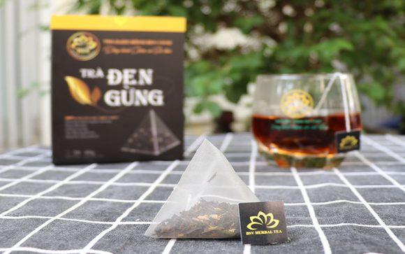 trà đen gừng uy tín